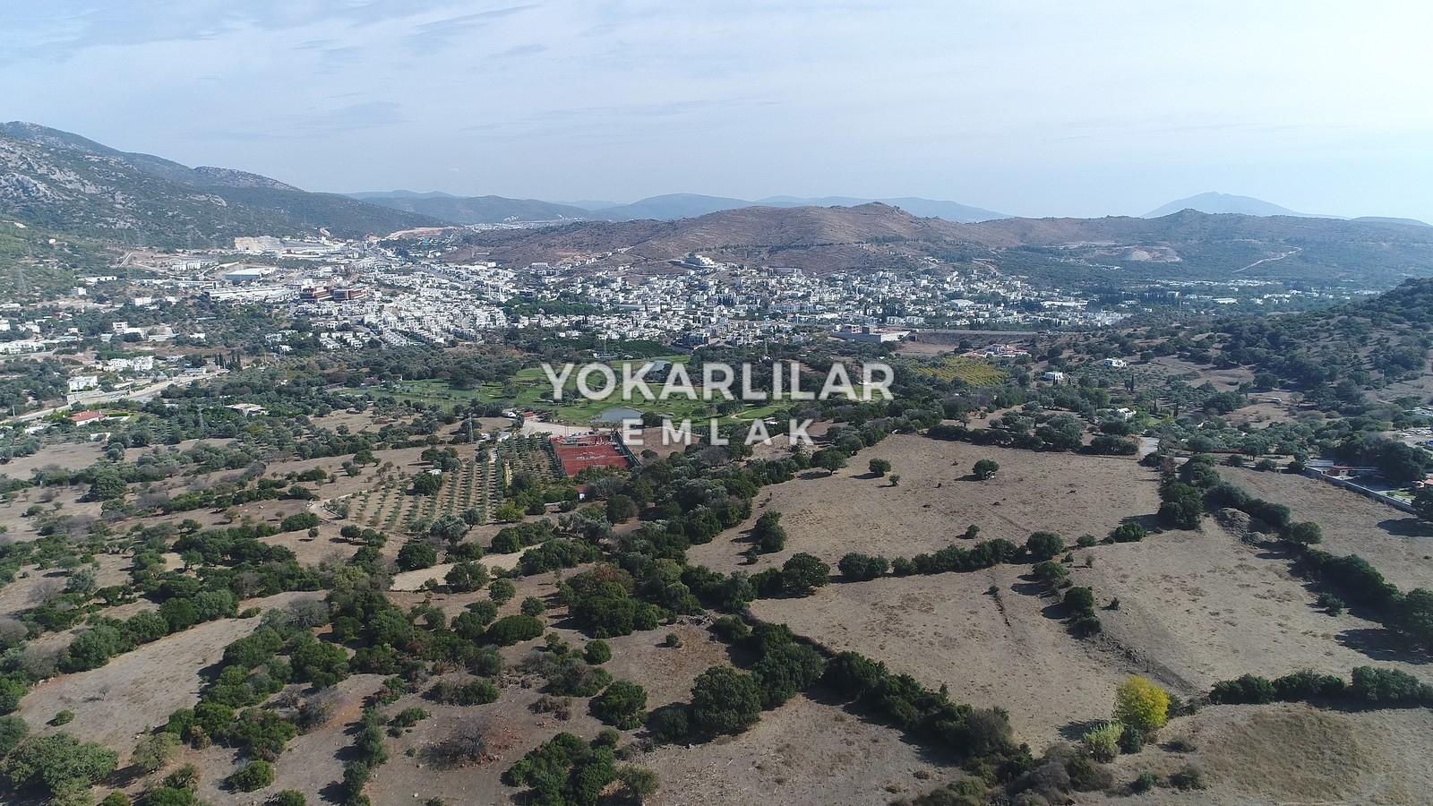 Yokarlılar Emlak - Ortakent/Satılık-Arsa/bodrum-ortakent'te-golf-sahasina-komsu-ozel-ciftlik-arazisi