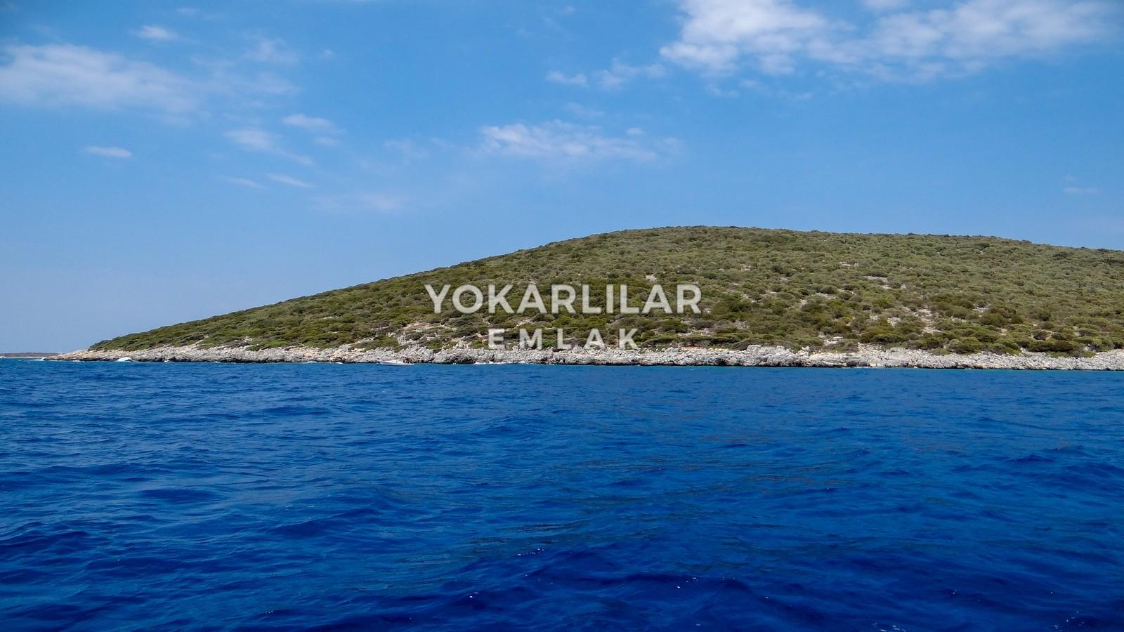 Yokarlılar Emlak - Gündoğan/Satılık-Arsa/bodrum'da-gundogan'in-muhtesem-koyunda-satilik-ada-parseli